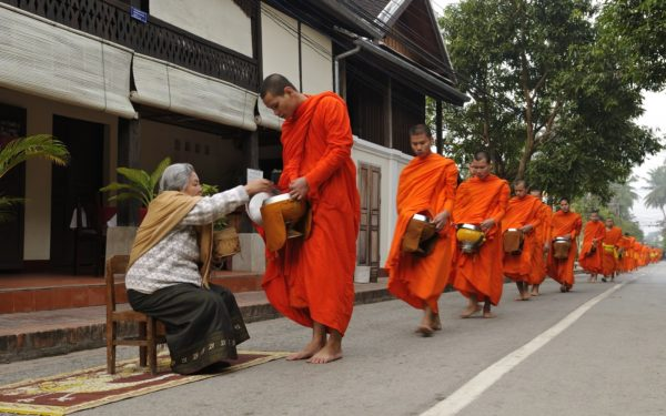 Monk Alms Offering